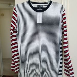 BNWT Topshop Striped Long Sleeve Dress